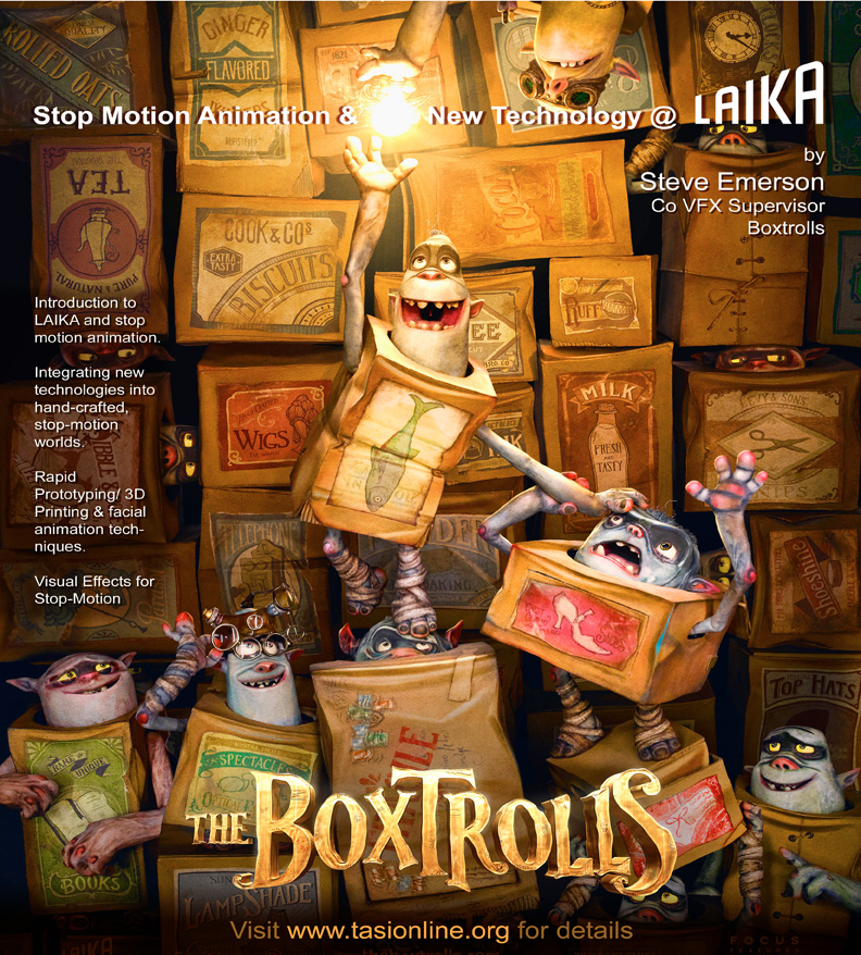The Boxtrolls are coming to Anifest India 2014!!