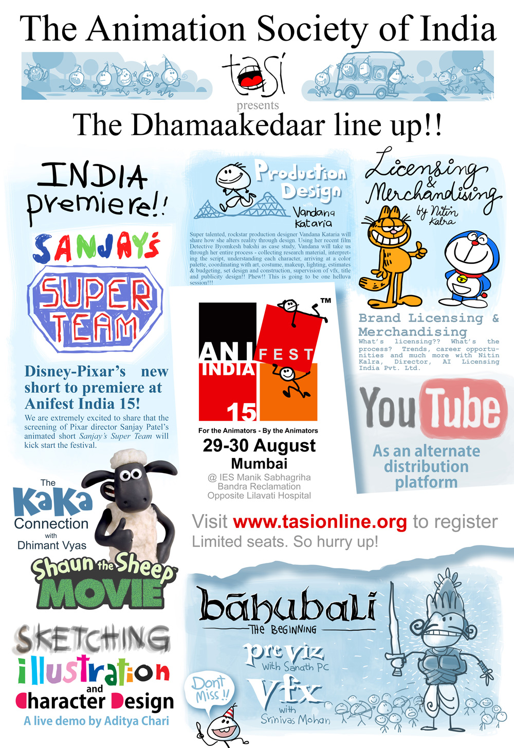 Anifest India 2015 Sessions