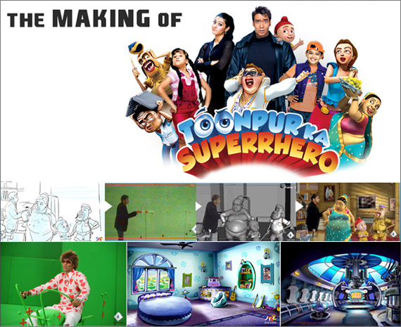 The Making of Toonpur Ka Superrhero