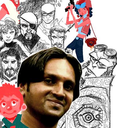 Manoj Menon - Concept Artist