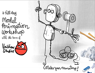 Model Animation Workshop with Vaibhav Studios