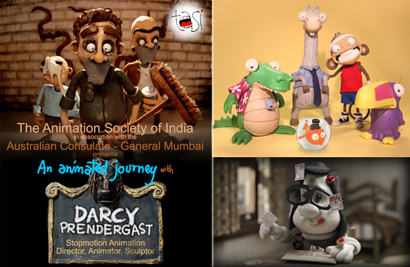 An Animated Journey with Darcy Prendergast