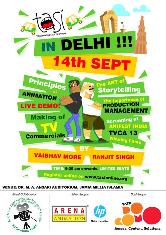 TASI comes to Delhi